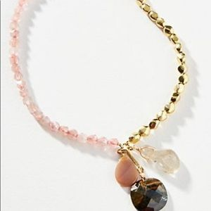 NWT Anthropologie Camille Pendant Necklace